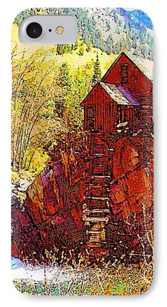 Deadhorse Mill IPhone Case by Dan Miller