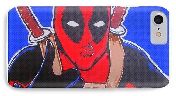 Deadpool Duckface Selfie Phone Case by Gary Niles