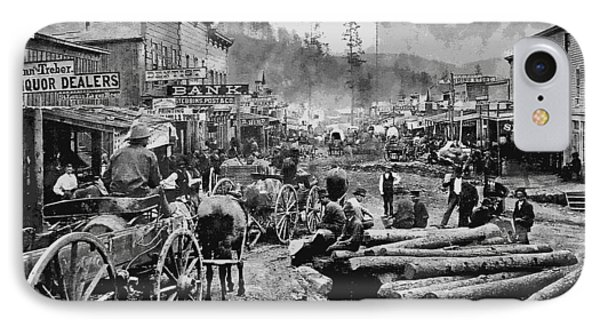 Deadwood South Dakota C. 1876 IPhone Case