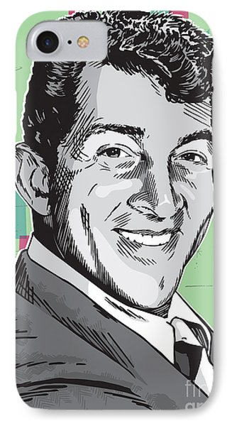 Dean Martin Pop Art IPhone Case
