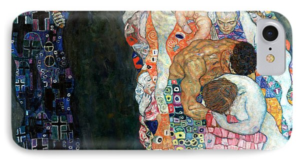 Death And Life Phone Case by Gustive Klimt