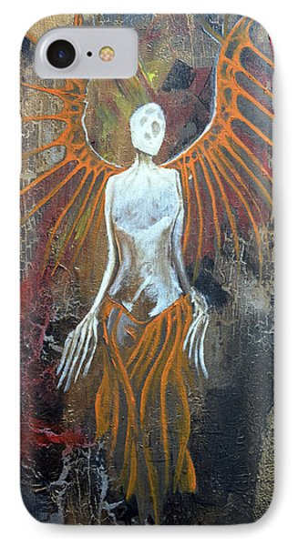 Death Angel IPhone Case by Jakub DK