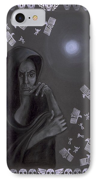 Death Crone Phone Case by Diana Perfect