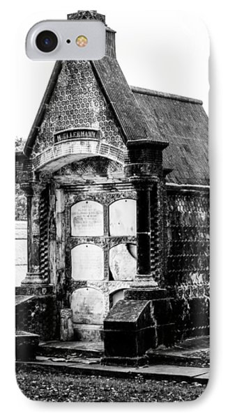 Death House - New Orleans Cemetery IPhone Case