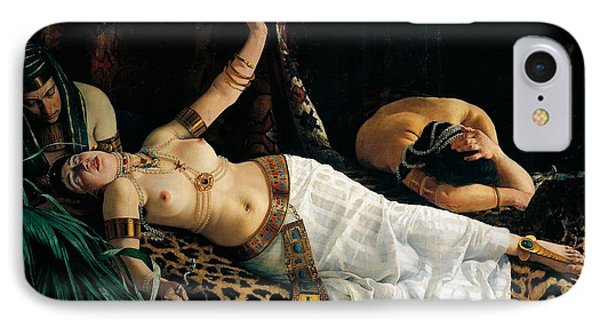 Death Of Cleopatra Phone Case by Achilles Glisenti