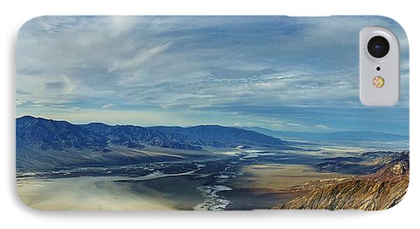 Death Valley From Above IPhone Case