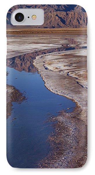 Death Valley Salt Stream 1 IPhone Case