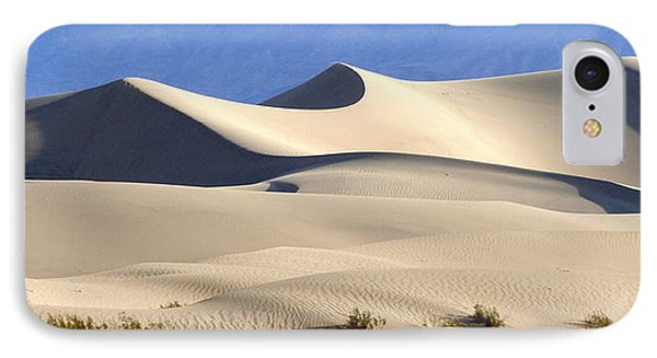 Death Valley Sand Dunes IPhone Case by Amelia Racca