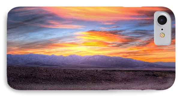 Death Valley Sunset Phone Case by Heidi Smith