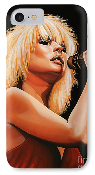 Deborah Harry Or Blondie 2 IPhone Case by Paul Meijering