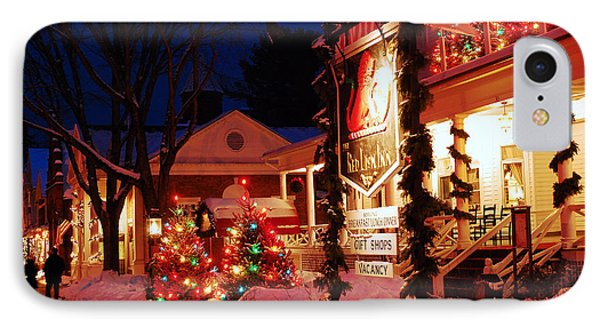 December At The Red Lion Inn IPhone Case by James Kirkikis