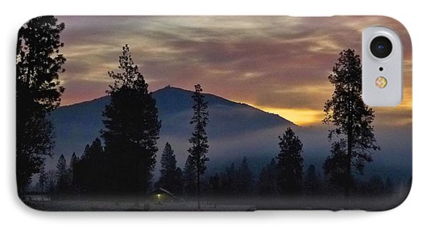 IPhone Case featuring the photograph December Dawn by Julia Hassett