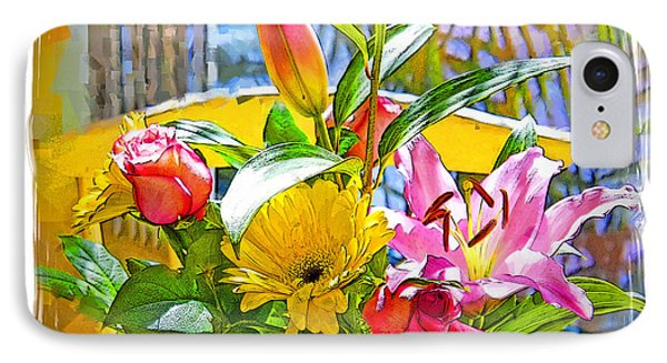 December Flowers Phone Case by Chuck Staley
