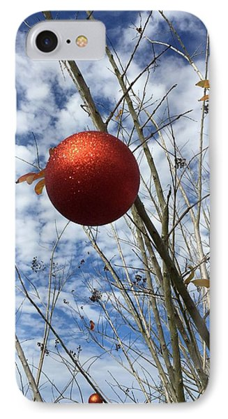 December IPhone Case by Jean Marie Maggi