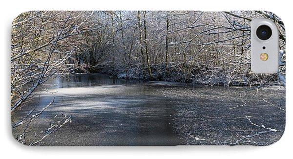 December Lake IPhone Case by Svetlana Sewell