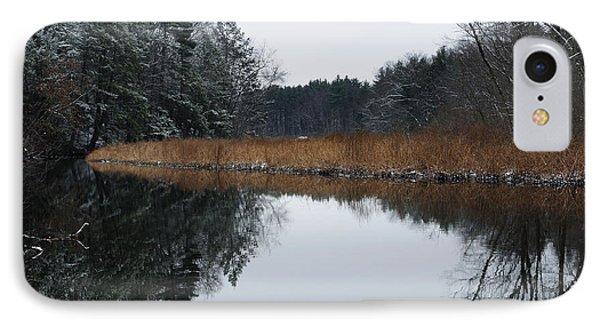 December Landscape IPhone Case by Luke Moore
