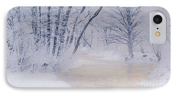 December Riverscape Phone Case by Alan L Graham
