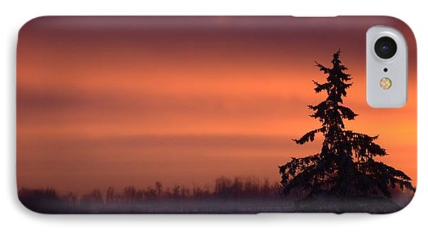 December Sky 2 IPhone Case by Ellery Russell