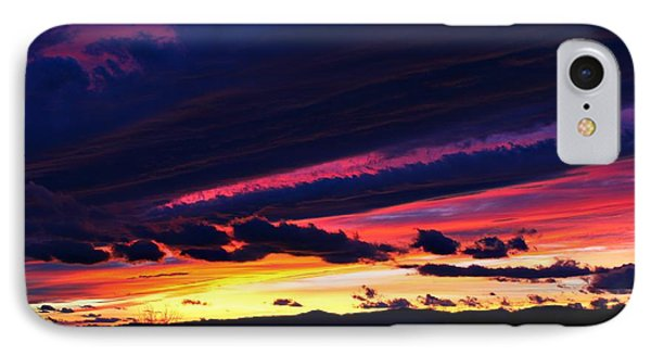 IPhone Case featuring the photograph December Sunset by Candice Trimble