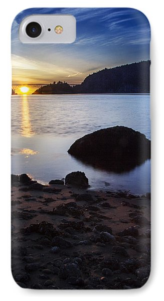 Deception Pass 3 IPhone Case by Sonya Lang