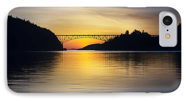 IPhone Case featuring the photograph Deception Pass Bridge by Sonya Lang