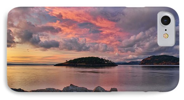 Deception Pass Sunset IPhone Case