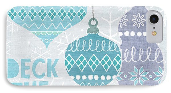 Deck The Halls IIi IPhone Case by Moira Hershey