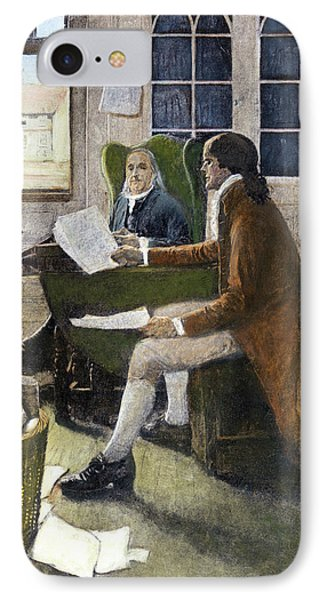 Declaration Of Independence, 1776 IPhone Case by Granger