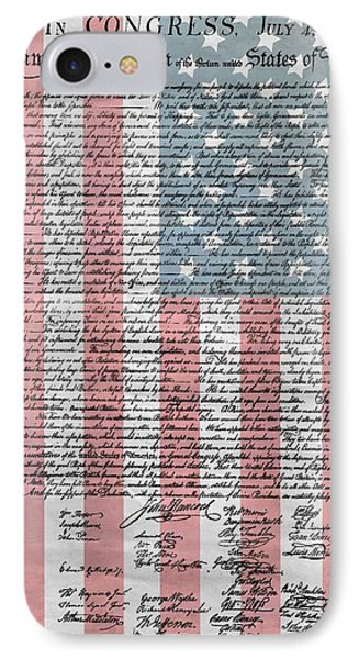 Declaration Of Independence IPhone Case