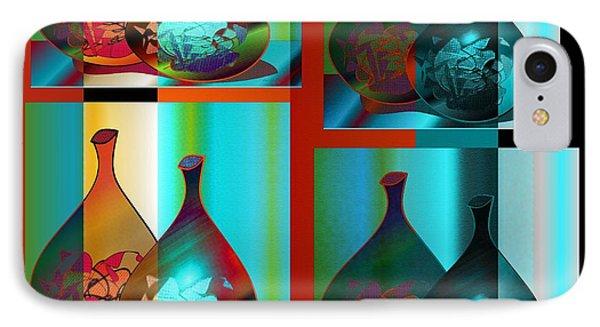 IPhone Case featuring the digital art Decor 2 by Iris Gelbart