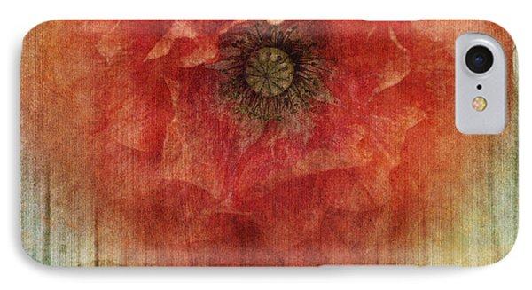 Decor Poppy Blossom IPhone Case by Priska Wettstein