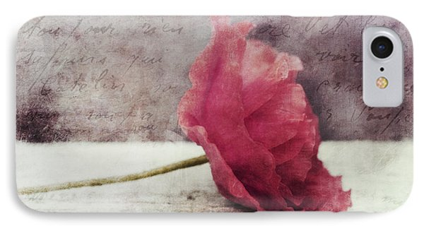 Decor Poppy Horizontal IPhone Case