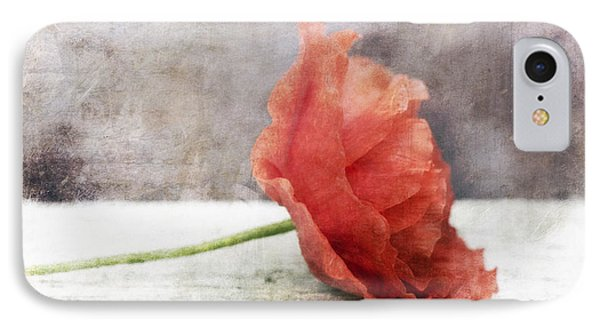 Decor Poppy Red IPhone Case