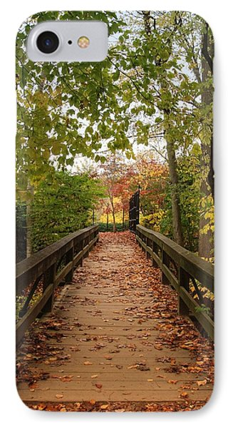 Decorate With Leaves - Holmdel Park IPhone Case