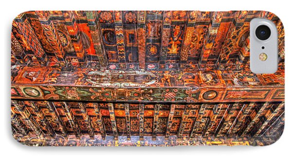 IPhone Case featuring the photograph Decorated Ceiling by Rod Jones