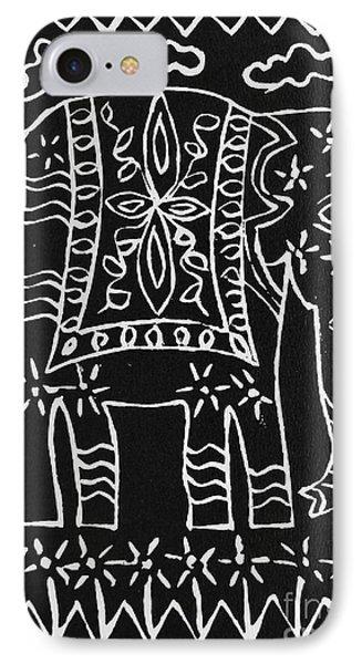 Decorated Elephant Phone Case by Caroline Street