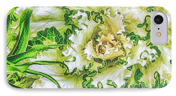 Decorative Kale IPhone Case