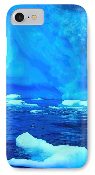 IPhone Case featuring the photograph Deep Blue Iceberg by Amanda Stadther