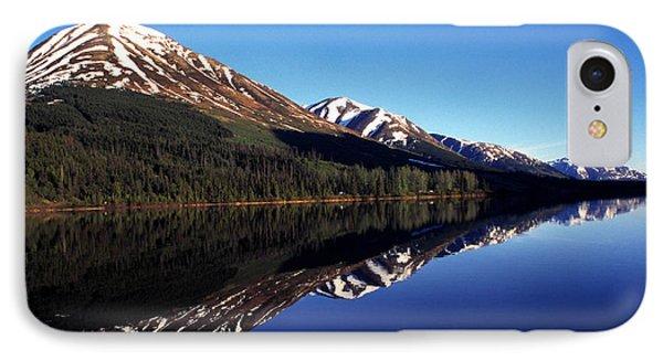 Deep Blue Lake Alaska Phone Case by Thomas R Fletcher