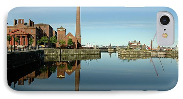 IPhone Case featuring the photograph Deep Blue Reflections by Jonah  Anderson