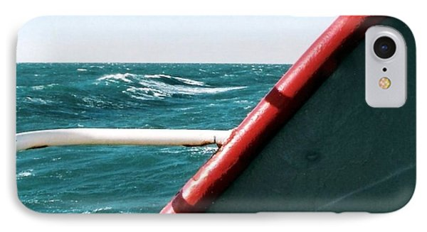 IPhone Case featuring the photograph Deep Blue Sea Of The Gulf Of Mexico Off The Coast Of Louisiana Louisiana by Michael Hoard