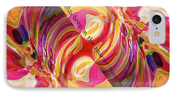 IPhone Case featuring the digital art Deep Calls Unto Deep by Margie Chapman