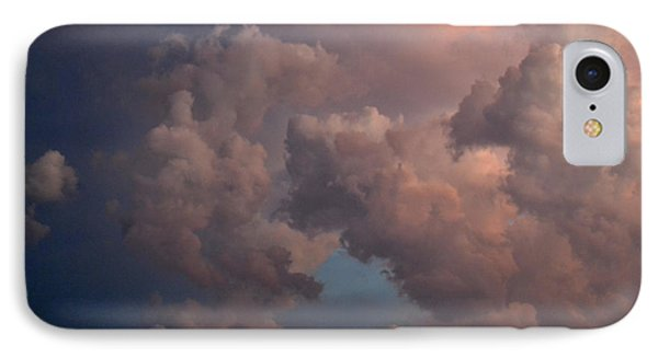 IPhone Case featuring the photograph Deep Clouds At Sunset 2  by Lyle Crump