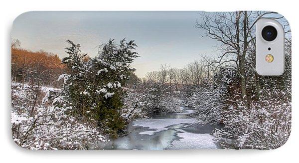 Deep Creek At Green Lane Reservoir - Pennsylvania Usa Phone Case by Mother Nature