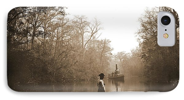 Deep Creek, Fla, Jackson, William Henry, 1843-1942, Rivers IPhone Case by Litz Collection