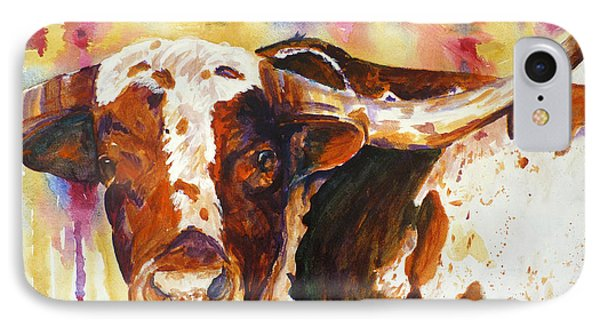 IPhone Case featuring the painting Deep In The Heart Of Texas by P Maure Bausch