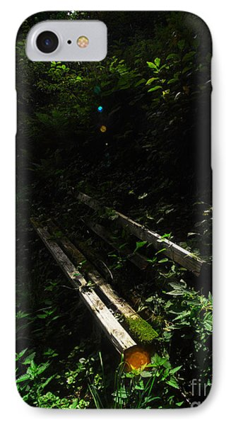 IPhone Case featuring the photograph Deep In The Woods by Andy Prendy