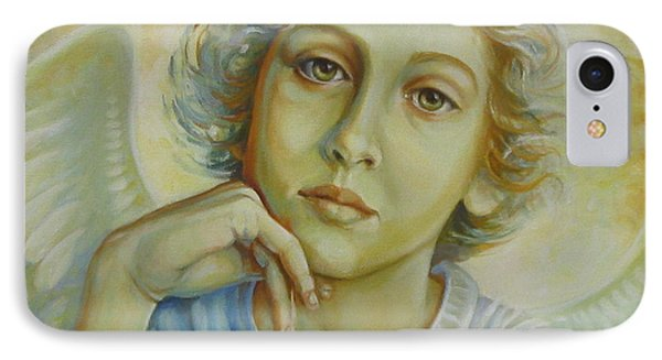 Deep In Thought IPhone Case by Elena Oleniuc
