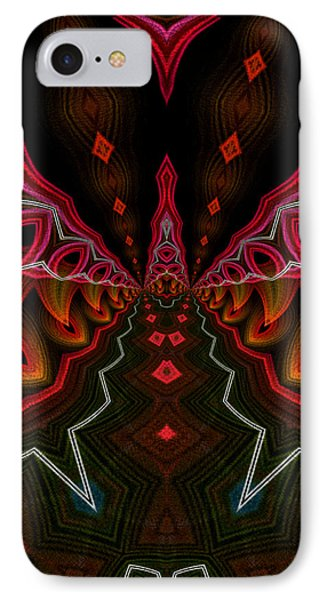 IPhone Case featuring the digital art Deep In Thought by Owlspook