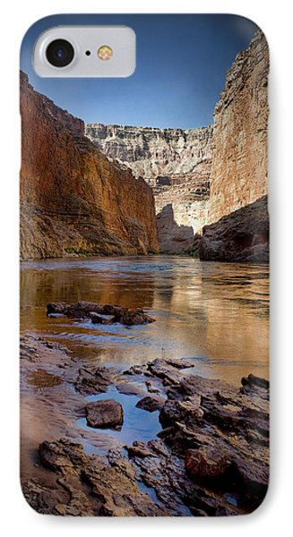 Deep Inside The Grand Canyon IPhone Case by Ellen Heaverlo